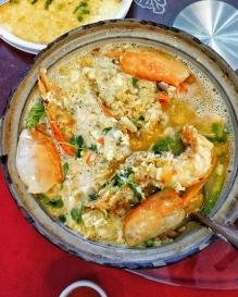 Claypot Shrimp Porridge - Fatt Hei Len
