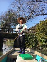Yanagawa Cruise - Singing boatman
