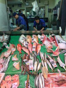 Yanagibashi Market - Fishmongers
