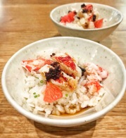 Lobster, XO sauce, Pink Grapefruit, Koshihikari Rice - Tom Kemble at The Pass