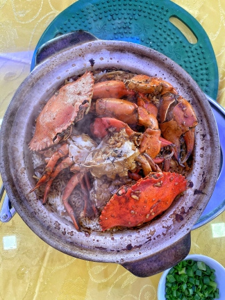 Claypot Crab Rice - Xigong