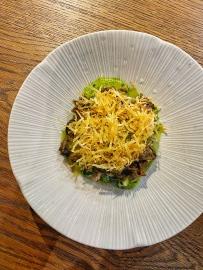 Smoked Eel, Chanterelles, Crispy Potatoes & Green Pil Pil - Tata Eatery