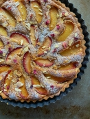 Plum Brown Butter Almond Frangipane